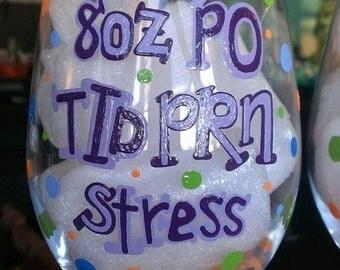 1 (one) 8oz PO TID PRN Stress