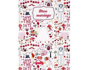 Notebook My Wedding