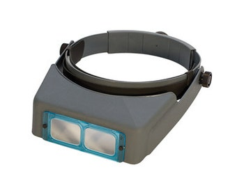 Optivisor #3 Headband Magnifier, 1-3/4X Magnification | ELP-503.00