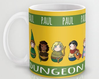 Dungeon & Dragons Mug  / Dungeon and Dragons Custom Mug / Custom with name