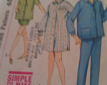 Simplicity Pattern No. 4189 Size 14 Teen