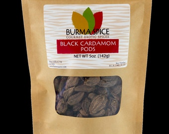 Black Cardamom Pods Bag, 5oz.