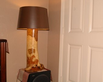 Custom Hand Crafted Lamp