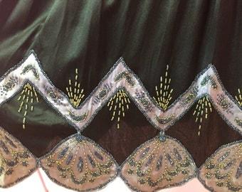 1920's silk beaded dress