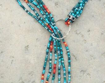 Contemporary Lariat  Necklace. #E06