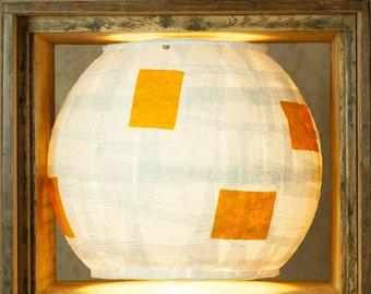 """Paper lamp """"yellow"""""""