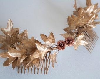 Headdress of Ivy leaves