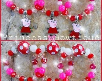 Peppa Pig Chunky Bracelets