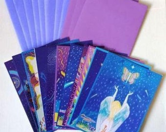 Mystical Visions Art Cards Full Set of 11