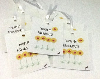 9 You're Fabulous Gift/Thank you tags