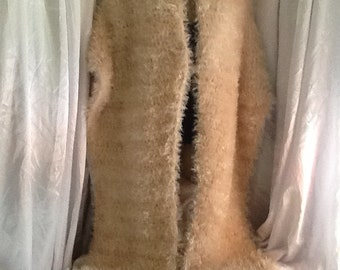 Bridal,evening cape stole handcrochet wool acrylic freesize
