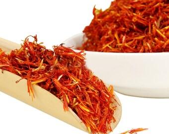 Saffron -  Chinese Saffron - Decaffeinated - Chinese Tea - Herbal Tea - Flower Tea - Tea - Loose Tea - Loose Leaf Tea - FREE Shipping