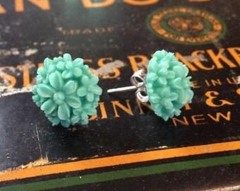 Flower Bouquet Stud Earrings