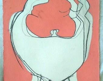 Bellys...One in a Series of Paintings...