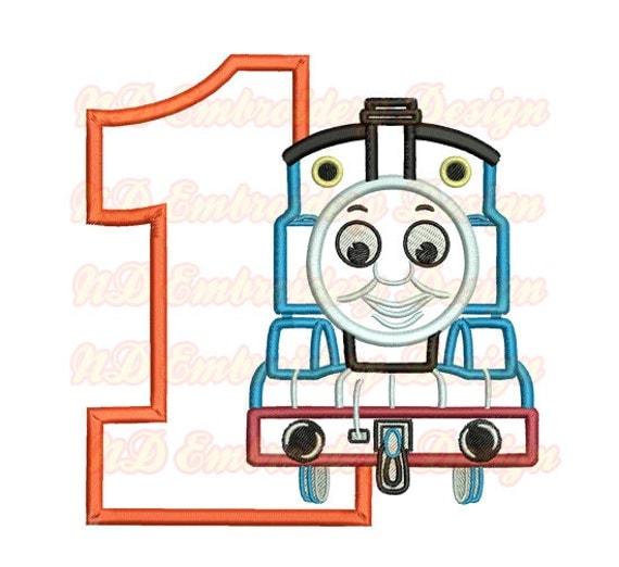 Latest Thomas The Train Applique Design Zachary Kristen