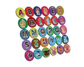 Kids' Magnets Set - ALPHABET 30x
