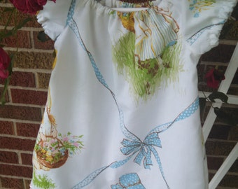 SALE--20% off--Tiny Princess dress, size 12-18 months