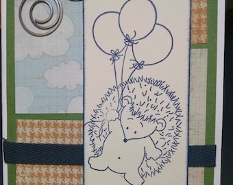 Hedgehog Note Card