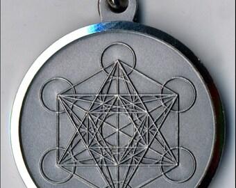 Seal of Metatron's Cube-Cube Seal of Metatron-Sacred Geometry