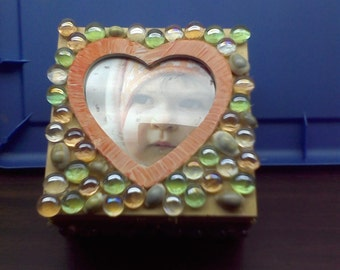 wooden picture box