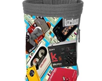Chalkbag Climbing Retro Walkman tapes