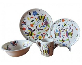 Campestre Handmade Dinnerware Set (16 pc)