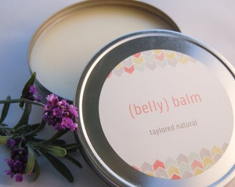 Nourishing Natural Belly Balm (8 oz!)