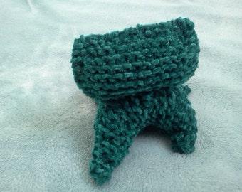 Velour - Hand Knitted Plush Kitten
