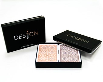 Desjgn 100% Plastic Playing Cards - Poker Size