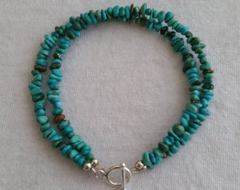 Simply turquoise bracelet