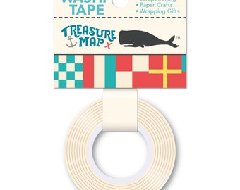 October Afternoon ~Treasure Map~ Washi Tape~Nautical Flags