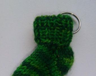Keychain mini sock