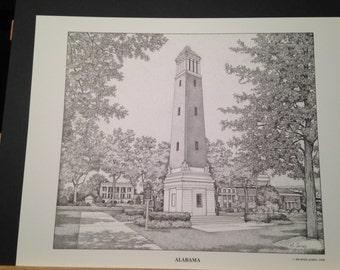 Alabama 11x14 print
