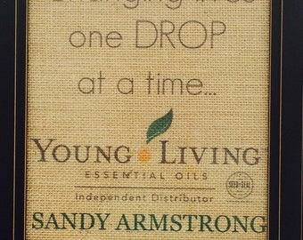 Young Living Independent Distributor, (print only)