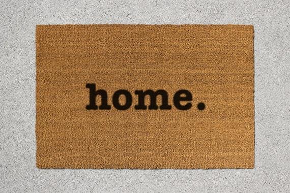Home Doormat Home Door Mat Home Welcome Mat By Thedoormatory