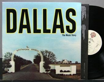 Dallas: The Music Story - Various Artists - TV Series Soundtrack Vinyl LP Record Album