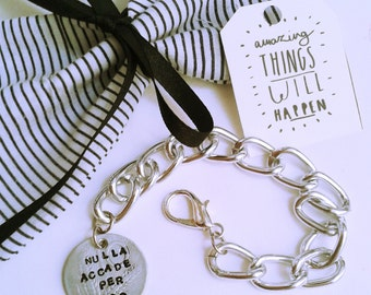 Customizable bracelet with engraved antique coin