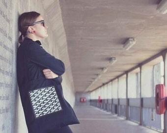 Sacred Geometry Black Tote bag.