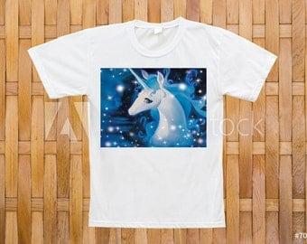 Custom 'The Last Unicorn' t shirt