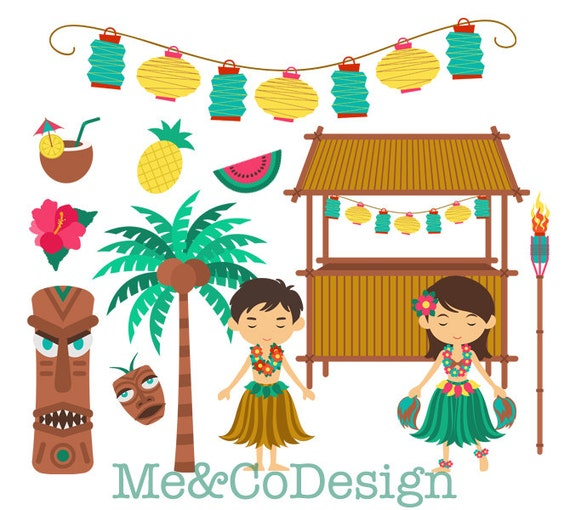 free clip art hawaiian christmas - photo #40