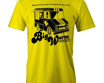 Big Worm Ice Cream Truck T-shirt Funny Friday Ghetto 90s