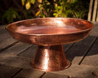 Hammerd Copper Platter/Cake Stand