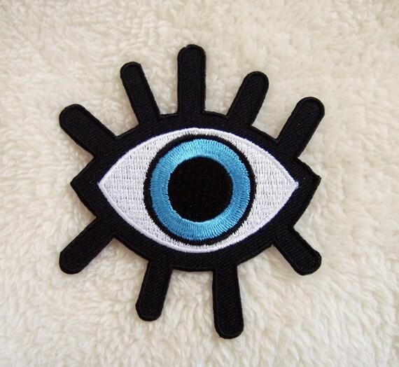 Third eye iron on patch