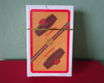 Vintage Castella Panatella Playing Cards, Unopened, In Cellophane Wrapper.