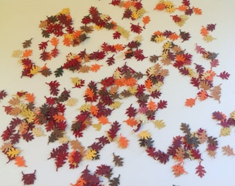 Autumn Harvest confetti and table scatter