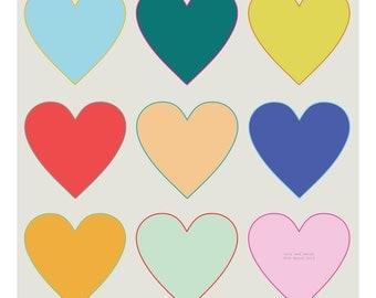 Custom Made Heart Giclee Print