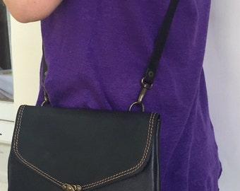 Hand Made Leather Bag, Messenger bag, Purse,