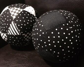 Black and white puzzle balls!