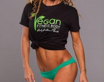 Vegan Fitness Body T-Shirt