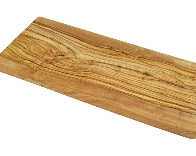Schneidebrett Olivenholz ca 35 x 15 cm Holz Unikat massiv